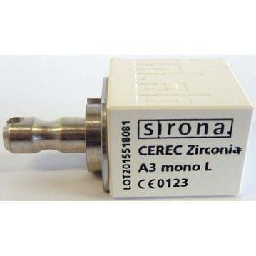 Blocuri CEREC zirconia mono L A3 3 pcs 6577014 Dentsply Sirona
