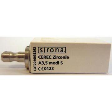 Blocuri CEREC zirconia medi S A3.5 3 pcs 6577121 Densply Sirona