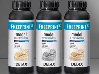 FREEPRINT MODEL UV (378-388 nm) 1000g GREY DETAX