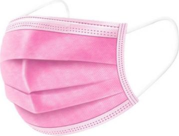 Masti faciale roz x 50 buc